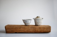 Teebrett 38x17cm - antikes Küchenbrett