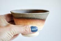 Teeschale 200ml Holzbrand von Erich Hovancik