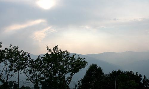 AusblickaufNepalDarjeeling