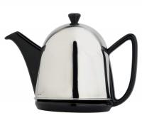 Teekanne Cosy Manto, Schwarz, 0,6L Geschirr