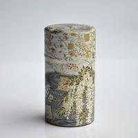 Kleine Teedose in japanischem Seidenpapier, 100g, gold