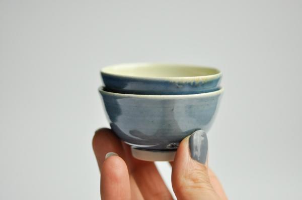 Mini Cups 50ml blau von Ales Dancak