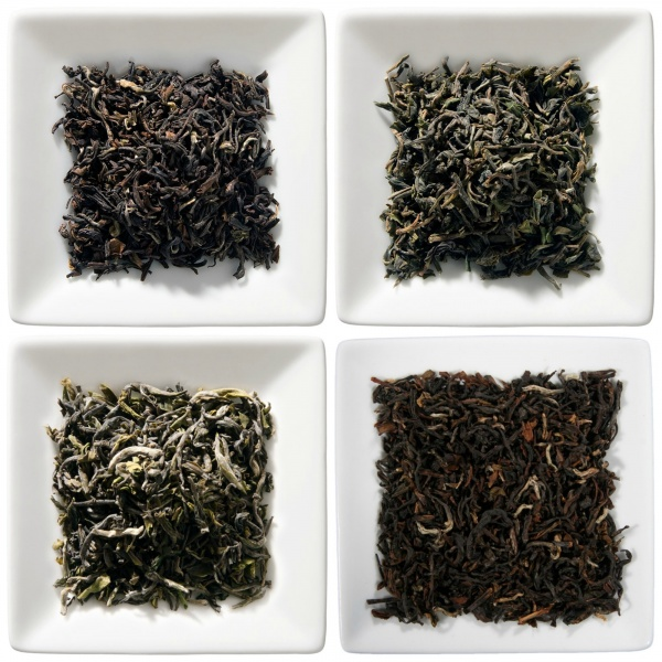 Darjeeling first & second flush Schnupperpaket, 4x 50g