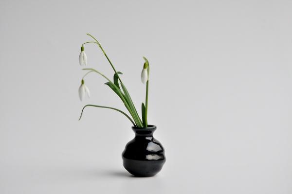 Mini Vase, dunkelblau