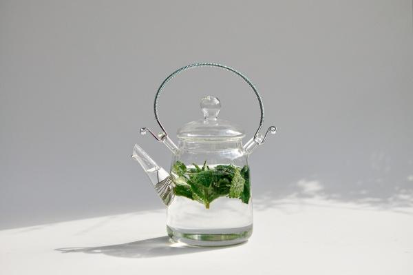Teekanne 360ml aus Glas