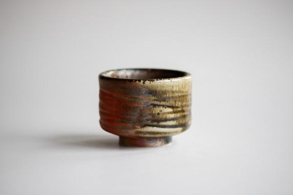 Becher 110ml Holzbrand zylindrisch von James Xie