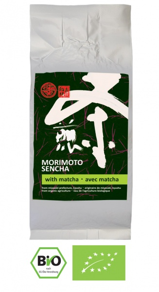 Bio Sencha mit Matcha Miyazaki Morimoto