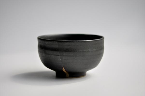 Chawan anthrazit/schwarz von Michiko Shida