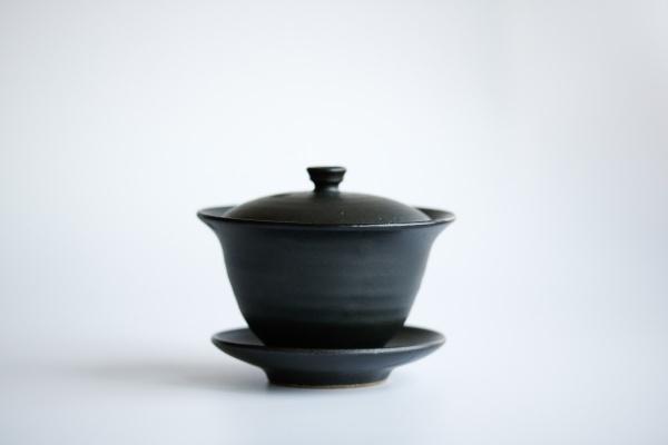 Gaiwan 160ml anthrazit/schwarz von Michiko Shida