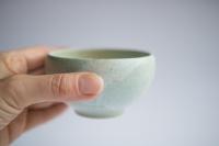 Teeschale 180ml mattgrün von Michiko Shida