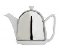 Teekanne Cosy Manto, Weiß, 1L Geschirr