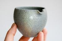 Yuzamashi/Abkühlschale 170ml steingrau von Jan Pavek