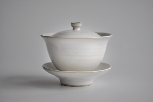 Gaiwan 175ml weiß/türkis von Michiko Shida