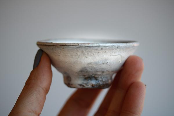 Teeschale Holzbrand creme 60ml von Martin Hanus