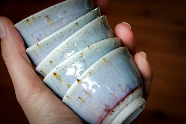 Cup, kleine Teeschale 60-80ml lavendel von Narieda