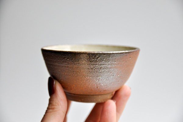 Teeschale 170ml Holzbrand von Ales Dancak