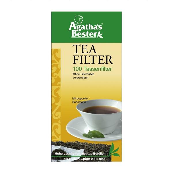 Teefilter für Tassen, 100 Stk. Tassenfilter