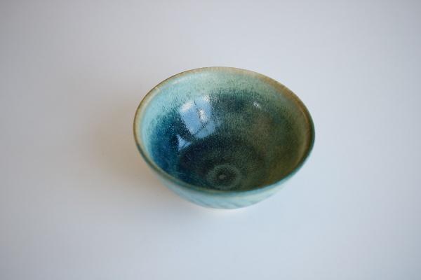 Teeschale Korallenblau 190ml von Berthold Neumann