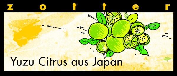 Zotter Yuzu Citrus aus Japan