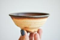 Teeschale 175ml Holzbrand von Erich Hovancik