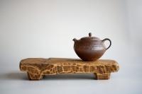 Teebrett 33x17cm - antikes Küchenbrett mit Füßen