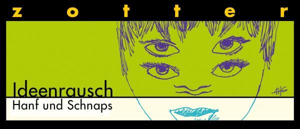 """Zotter """"Ideenrausch"""" Hanf und Schnaps"""