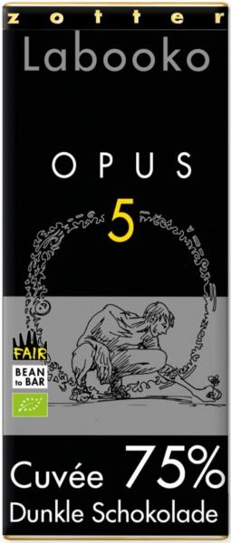 Zotter Labooko 75% Opus 5, vegan