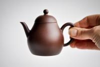 Yixing Zini Teekanne 160ml Zisha-Kanne Birnenform von Jie Zhao