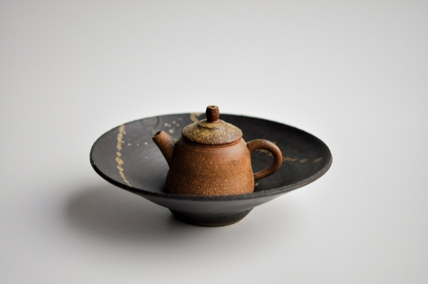Teller, Teeboot 18cm von Andrzej Bero