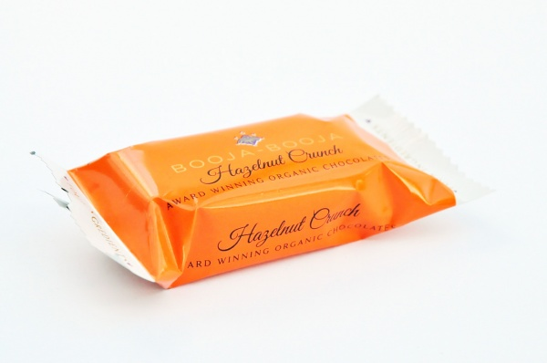 Hazelnut Crunch Trüffelpralinen - glutenfrei laktosefrei sojafrei vegan bio