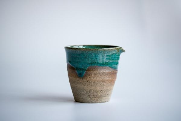 Ausschankkanne dunkelgrün 210ml von Michiko Shida, Abkühlgefäß, Pitcher, Cha Hai