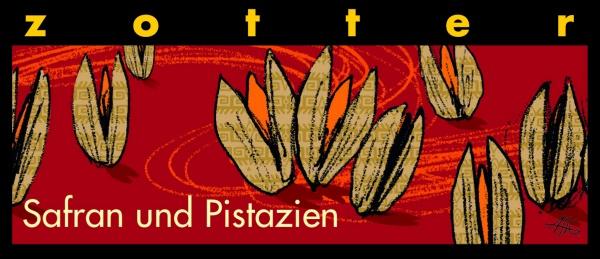 Zotter Safran+Pistazien