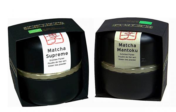 Bio Keiko Luxus Matcha Set (Supreme & Mantoku)