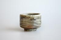 Becher 100ml Holzbrand zylindrisch von James Xie