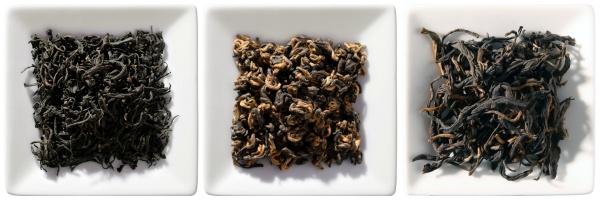 Schwarztee China Bio Schnupperpaket, 3x 50g