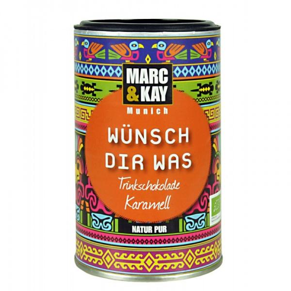 Bio Trinkschokolade Wünsch Dir Was, von Marc & Kay