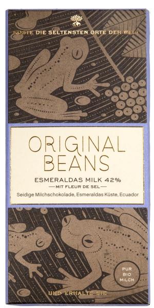 Original Beans, Esmeraldas Milk 42%