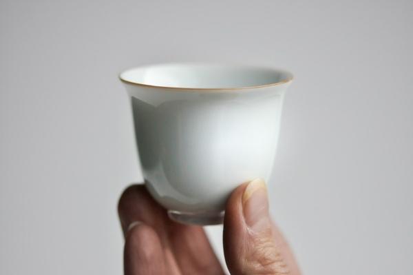 Cup Teeschale 2er Set Porzellan 70ml