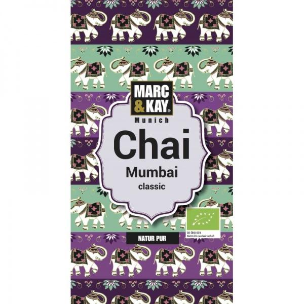 Bio Chai Mumbai, Classic, Tassenportion von Marc & Kay