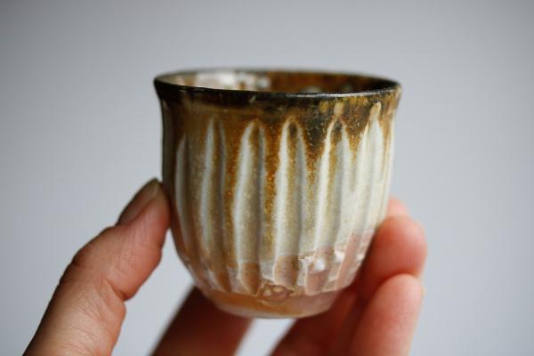 Yunomi/Cup 85ml Shinogi aus Izumiyama-Porzellan von Mike Martino