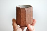 Teebecher 130ml mit kleiner Bodenrosette von Andrzej Bero