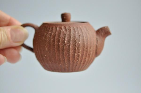 Teekanne rotbraun 95ml von Andrzej Bero