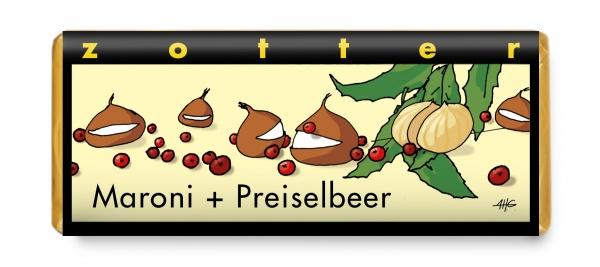 Zotter Maroni + Preiselbeer