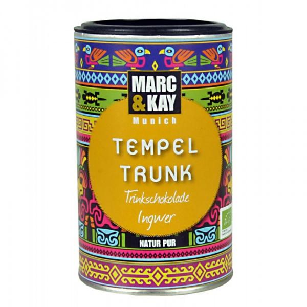 Bio Trinkschokolade Tempeltrunk, von Marc & Kay