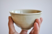 Teeschale 230ml Porzellan grün von Petr Sklenicka