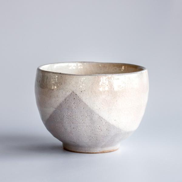 Japanische Teeschale SAKI beige 350ml