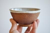 Teeschale 230ml braunrot von Petr Sklenicka