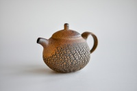 Teekanne 250ml Holzbrand Baumrindenoptik von Jiri Duchek