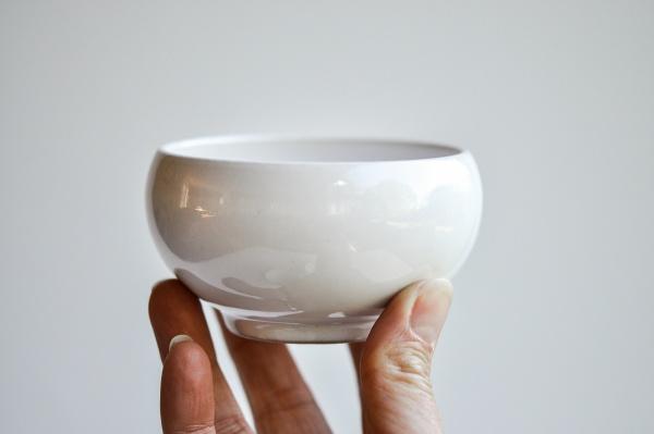 Teeschale 180ml weiß von Michiko Shida