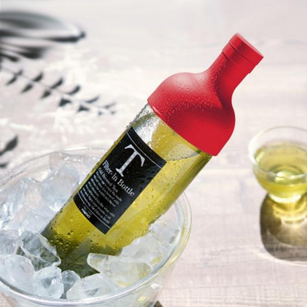Eisteeflasche für Kaltaufguss HARIO Rot coldbrew